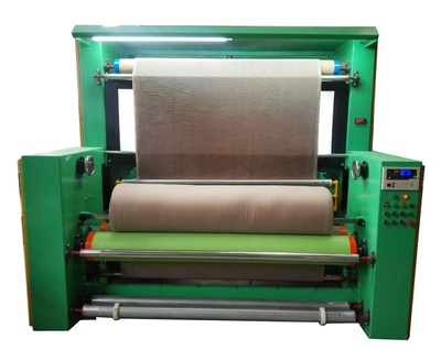 PL- fabric inspection and cloth rolling machine