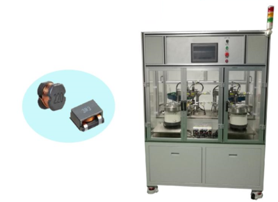 Automatic assembly equipment for inductors
